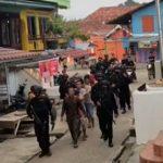 Grebek Pekat, Polres Muratara dan Sat-Brimob Polda Sumsel Amankan 18 Orang